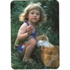Девочка с кошкой, 2000