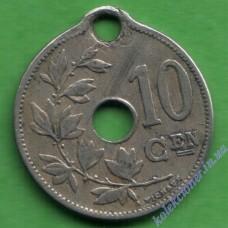 10 сантим 1905 года Belgie
