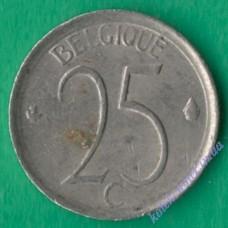 25 сантим 1965 года Belgique