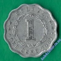1 цент 2002 года Белиз