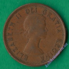 1 цент 1962 года Канада