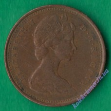 1 цент 1969 года Канада