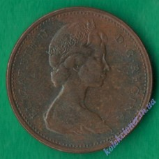 1 цент 1972 года Канада