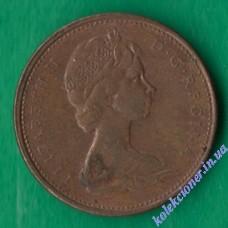 1 цент 1976 года Канада