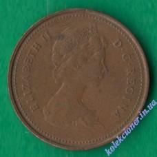 1 цент 1981 года Канада