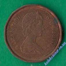 1 цент 1985 года Канада