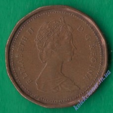 1 цент 1987 года Канада