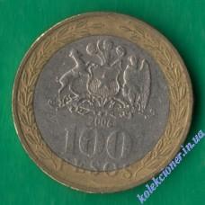 100 песо 2006 года Чили