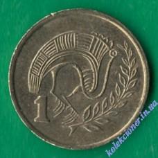 1 цент 1983 года Кипр