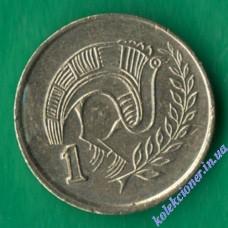 1 цент 1994 года Кипр