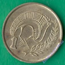1 цент 2003 года Кипр