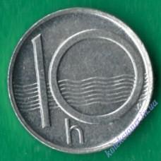 10 геллеров 1997 года Чехия