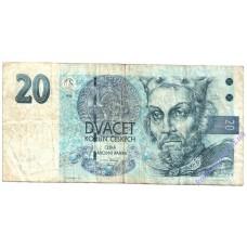 20 крон 1994 года Чехия