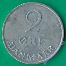2 эре 1971 года Дания