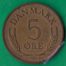 5 эре 1965 года Дания