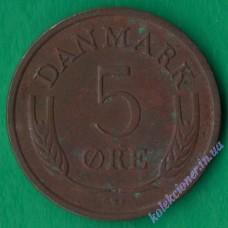 5 эре 1966 года Дания