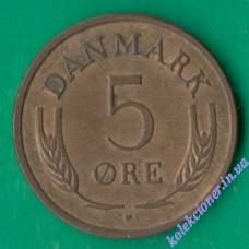 5 эре 1967 года Дания