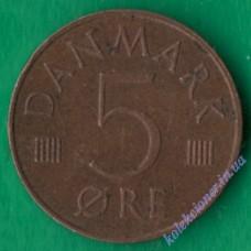 5 эре 1975 года Дания