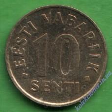 10 сенти 1991 года Эстония