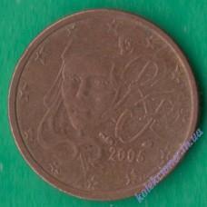 2 евроцента 2005 года Франция