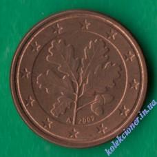 1 евроцент 2002 года A Германия