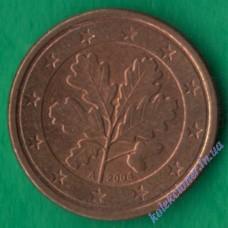 1 евроцент 2004 года A Германия