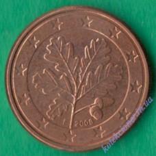 1 евроцент 2008 года F Германия