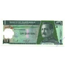 1 кветцаль 2006 року UNC Гватемала
