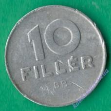 10 филлеров 1977 года Венгрия
