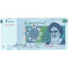 20000 риалов 2014 года UNC Иран