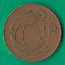 1 пенни 1971 года Ирландия