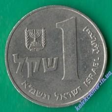 1 шекель 1981 года Израиль