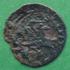 Шилінг (боратинка литовська) 1666 року. Ян Казимир #2