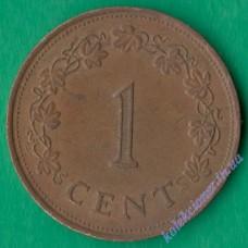 1 цент 1982 року Мальта