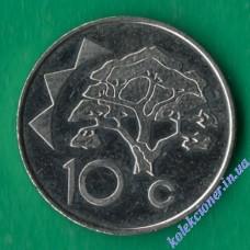 10 центов 1993 года Намибия