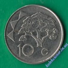 10 центов 2012 года Намибия