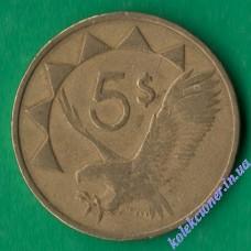 5 долларов 1993 года Намибия