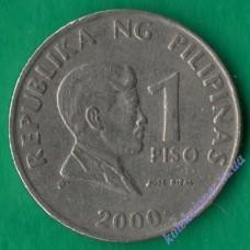 1 песо 2000 года Филиппины