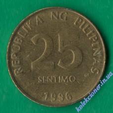 25 сентимо 1996 года Филиппины