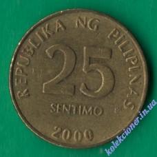 25 сентимо 2000 года Филиппины