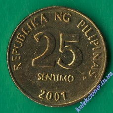 25 сентимо 2001 года Филиппины