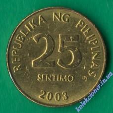 25 сентимо 2003 года Филиппины