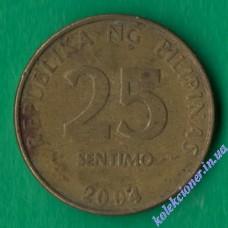 25 сентимо 2004 года Филиппины