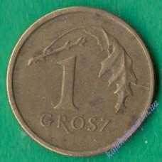 1 грош 2000 года Польша