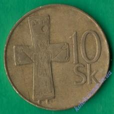 10 крон 1993 года Словакия
