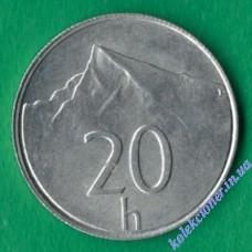 20 геллеров 2002 года Словакия