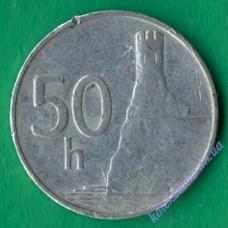 50 геллеров 1993 года Словакия