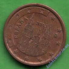 1 євроцент 2003 року Іспанія