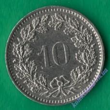 10 раппен 1988 года Швейцария