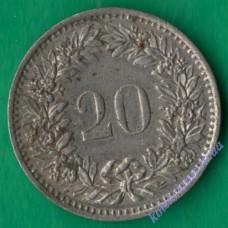 20 раппен 1978 года Швейцария